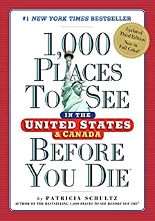 Book Cover: 1,000 Places to See in the United States and Canada Before You Die