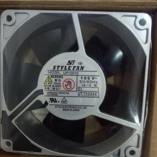 STYLE FAN 120*120*38MM UP12D10 100V