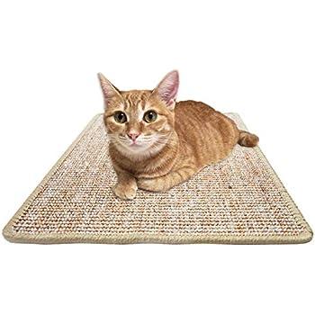 Amazon.com: FUKUMARU - Alfombra rascadora para gatos, cuerda ...