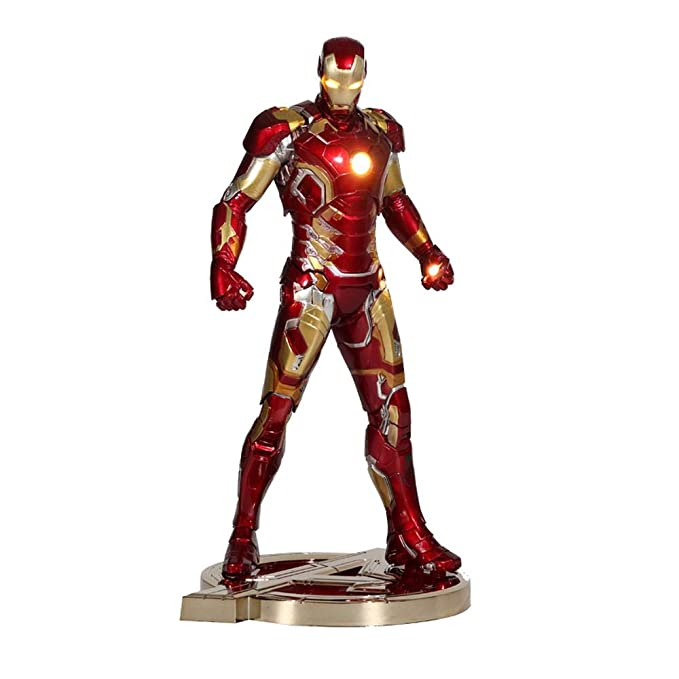 Vengadores 4 Imitación Metal Iron Man Figura Modelo Regalo ...