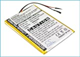 Battery2go - 1 year warranty - 3.7V Battery For Creative DVP-FL0006