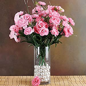 BalsaCircle 72 Silk Ranunculus Flowers - 4 Bushes - Artificial Flowers Wedding Party Centerpieces Arrangements Bouquets Supplies 7