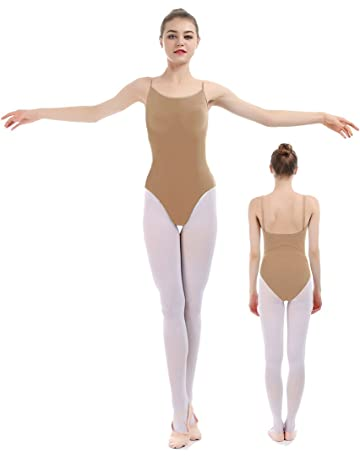 bb0e7e4b8e0 iMucci Professional Seamless Nude Camisole Leotard - Undergarment Dancewear  for Ballet Dance