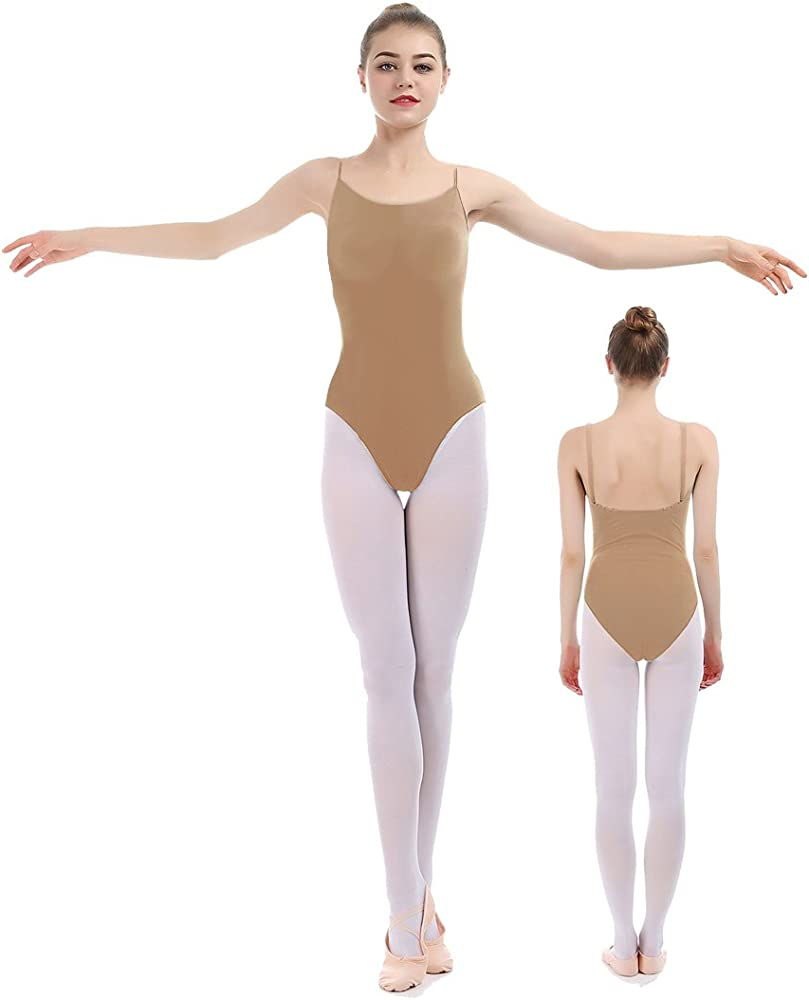 New Women/'s   Lycra Sleeveless Professional Dance Leotard Camisole