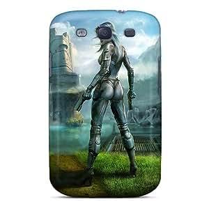 Cute Appearance Cover/tpu LEdgbMY3018QazMW Earthrise Cg Girl Case For Galaxy S3