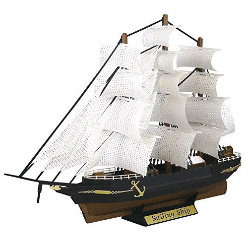 Paper Nano Sailing Ship Building Set