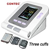 CONTEC FDA Approved Fully Automatic Upper Arm Blood Pressure Monitor 3 mode 3 cuffs Electronic Sphygmomanometer