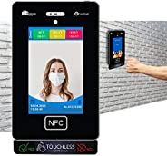 Touch Free Automatic Temperature Measurement Kiosk Device + Touchless Questionnaire Pad with Attendance 10.2&q