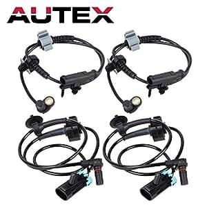 amazon autex 4pcs abs wheel speed sensor front rear als1464 OBD2 Reader share facebook twitter pinterest