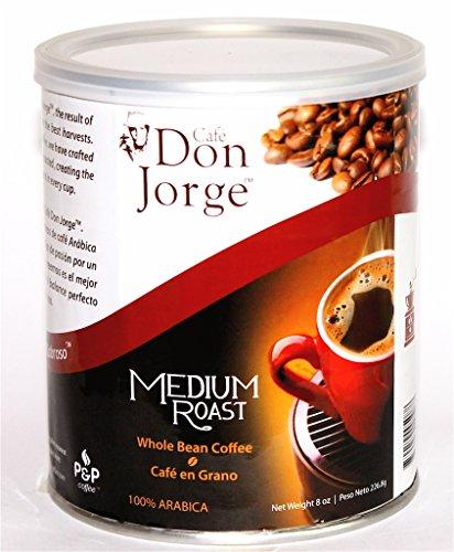 Caf Don Jorge Medium Roast Whole Bean 8 Ounce