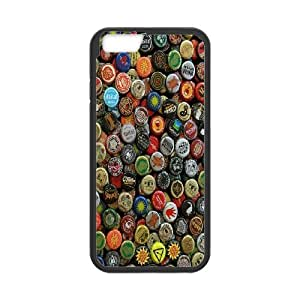 Bloomingbluerose so Many Beers Cases for IPhone 6 Plus, with Black
