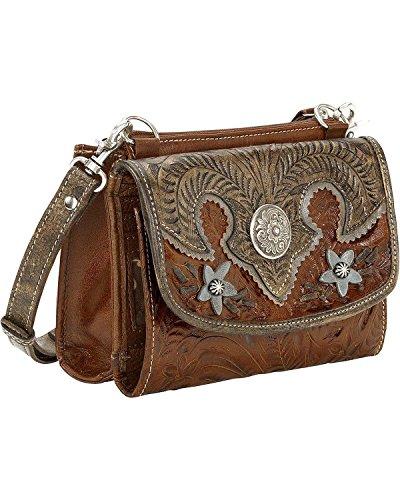 American West Women's Desert Wildflower Crossbody Bag – 5683982