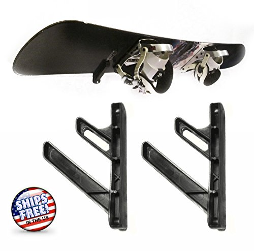 ZaZaTool NEW Skateboard Snowboard Ski Tool Garage Wall Rack