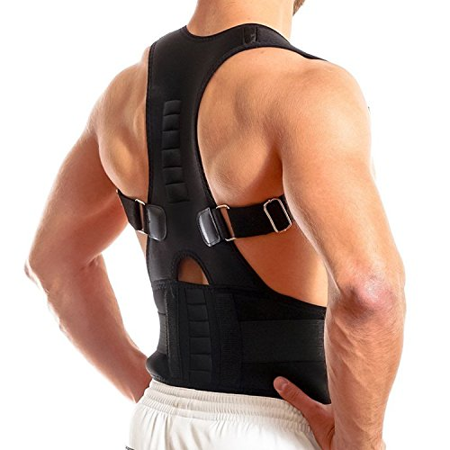 ea37f7f4d86 FOUMECH Back Brace Posture Corrector for Men and Women-Fully - Import It All