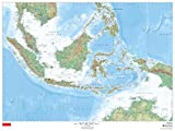 Indonesia - 48'' x 36'' Paper Wall Map