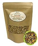 Ayurvedic Anti-Inflammatory tea - Organic loose leaf Turmeric, Ginger, Lemongrass and Licorice (loose tea, 4 oz.)