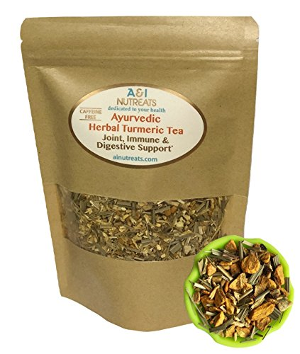 Ayurvedic Anti-Inflammatory tea - Organic loose leaf Turmeric, Ginger, Lemongrass and Licorice (loose tea, 4 ()