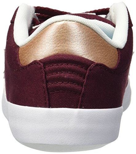 Converse Femme Basses Star dark peach Lifestyle Multicolore white Point Sneakers Burgundy 629 Ox ffwrq