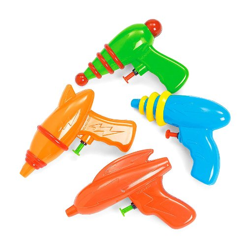 PACK DE 6 GUNS ESPACE Squirt Fun Express 41630