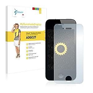 Vikuiti ADQC27 - Protector de pantalla para iPhone 4 (no deja residuos, instalacin sencilla), color transparente