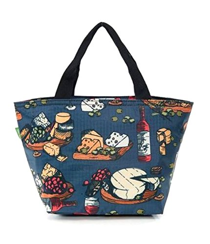 Cool ECO Print Print CHIC Cheese Lunch Tote Wine Bag vEEfqw6