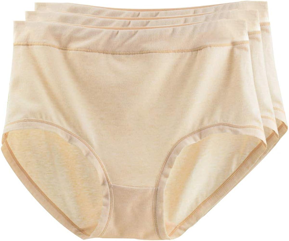 KINDOYO Braguitas Mujer - Pack de 3 Ropa Interior de Mujer Cintura ...