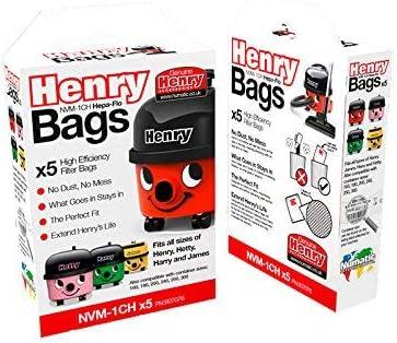 Genuine Numatic Henry Vacuum Hoover Bags Hepa Flo HepaFlo NVM-1CH 1 2 4 6 10