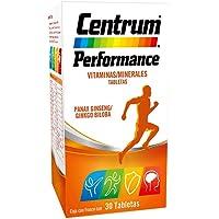 Centrum Performance. Con Panax Ginseng y Ginko Biloba. 30 Tabletas.