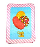 Candy Crush ''Candy Trio'' Fleece Blanket, 46 x 60-inches