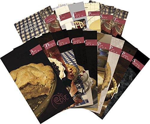 Rose Levy Beranbaum Signature Series Rose's All Original All American Pie Recipe Deck, Multicolor