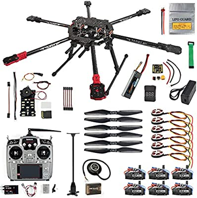 QWinOut ARF/PNP Full Set Hexacopter DIY Drone Kit Tarot 690mm ...