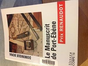 """Afficher """"Le manuscrit de Port-Ébène"""""""