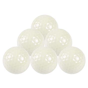 6 piezas Bolas fluorescentes de golf, LED electrónico Color ...