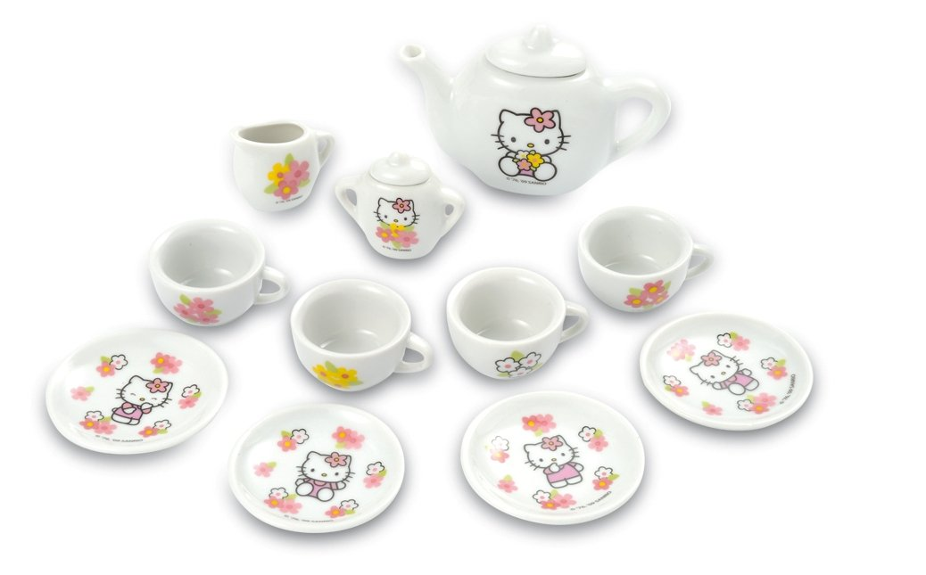 Smoby Hello Kitty Porcelain Tea Set: Amazon.co.uk: Toys & Games