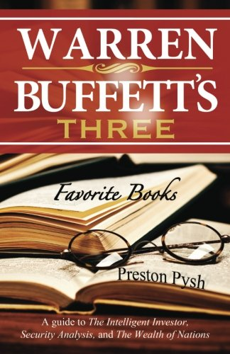 Price comparison product image Warren Buffett's 3 Favorite Books: A guide to The Intelligent Investor, Security Analysis, and The Wealth of Nations