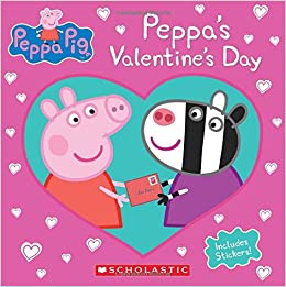 peppas valentines day peppa pig courtney carbone eone 9781338158977 amazoncom books - Valentines Day Book