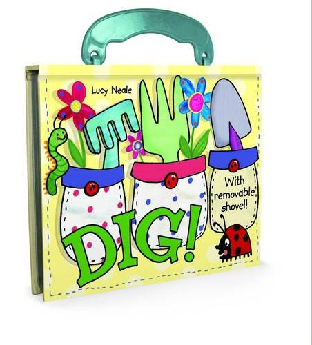 Dig! Board Book with Handle - Dig Handle
