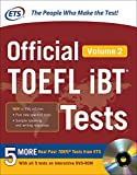 img - for Official TOEFL iBT  Tests Volume 2 book / textbook / text book