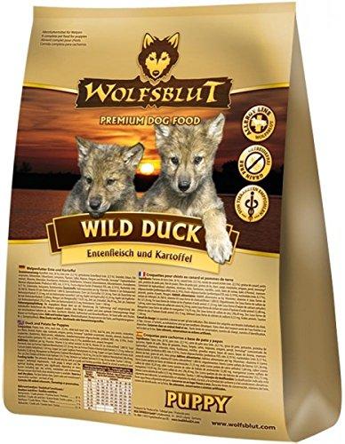 Wolfsblut Wild Duck PUPPY mit Ente + Kartoffeln - 15kg Sack