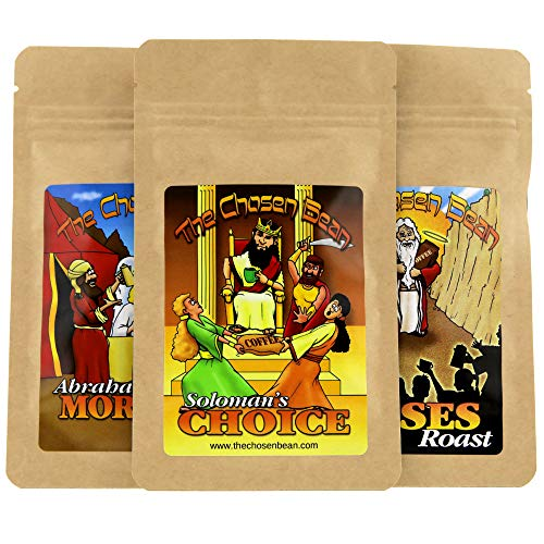 The Chosen Bean Premium Gourmet Coffee Try Me Chosen Collection Includes 3 Specialty Coffees Organic Small Batch Roasted