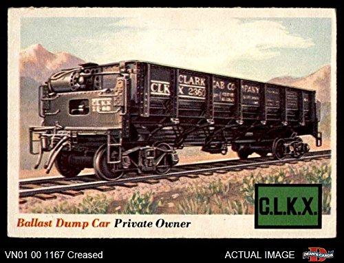 1955 Topps Rails & Sails # 10 Ballast Dump Car (Card) Dean's Cards 3 - VG 3209700 Ballast Dump Car