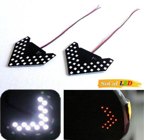 Side Mirror Led Turn Signal Arrow Lights - 9
