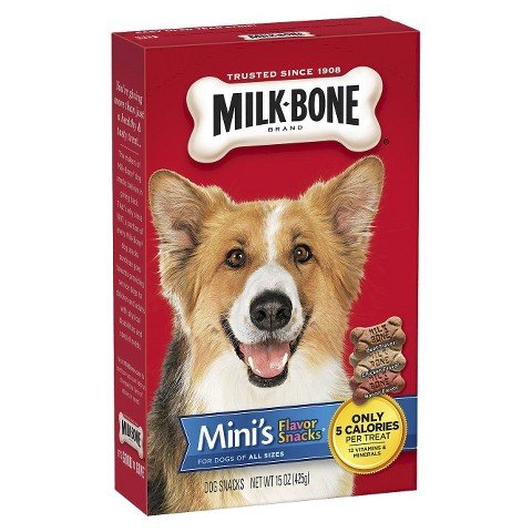 Milk-Bone Dog Snacks - Mini's Flavor Snacks 15 oz
