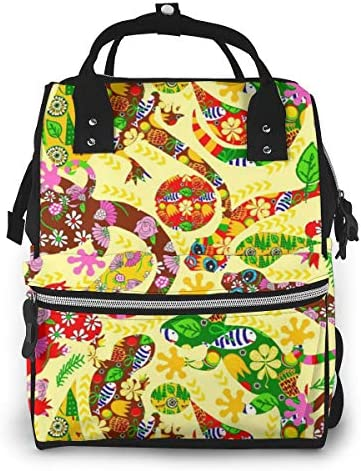 Nature Design Multi-Function Travel Backpack Nappy Bag,Fashion Mummy Bag