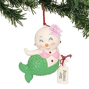 515AtKnbtmL._SS300_ 100+ Mermaid Christmas Ornaments