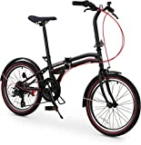 Coghorn Boxer Folding Bike with Compact 7-speed Frame and 20in Wheels...