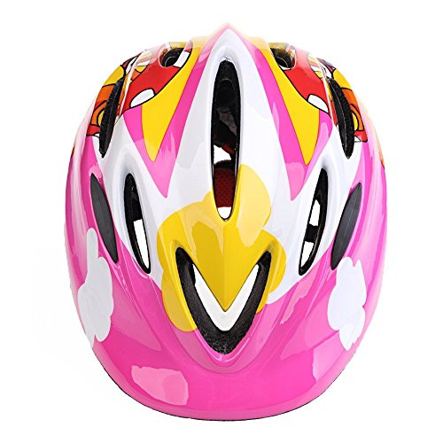Cheap YOSIL 5-10 Years Old Children Mini Riding Helmets (12.6-17.7 inch) Skating / Single Board Skiing / Scooter / Balancing Bicycle Protective Helmet (Pink Mushroom)