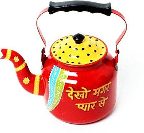 Elegant Steel Made Rajasthan Handicraft Decorative Kettle/Jug/Pot