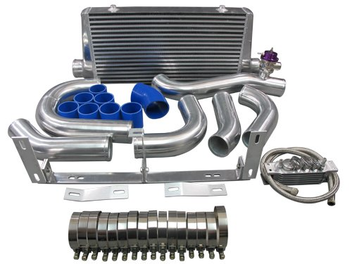 Front Mount Intercooler Kit For 96-04 Ford Mustang 4.6L V8 with Supercharger