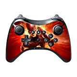 Comic Book Hero Wii U Pro Controller Vinyl Decal Sticker Skin by Compass Litho